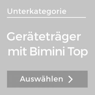 Geräteträger mit Bimini Top